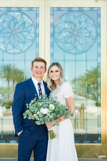 Smiling couple - Kacy Hughes Photography