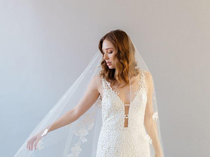 Tmx Carlotta Full Lengthweddingveil Celesteny 51 1886401 157771658789381 Brooklyn, NY wedding dress