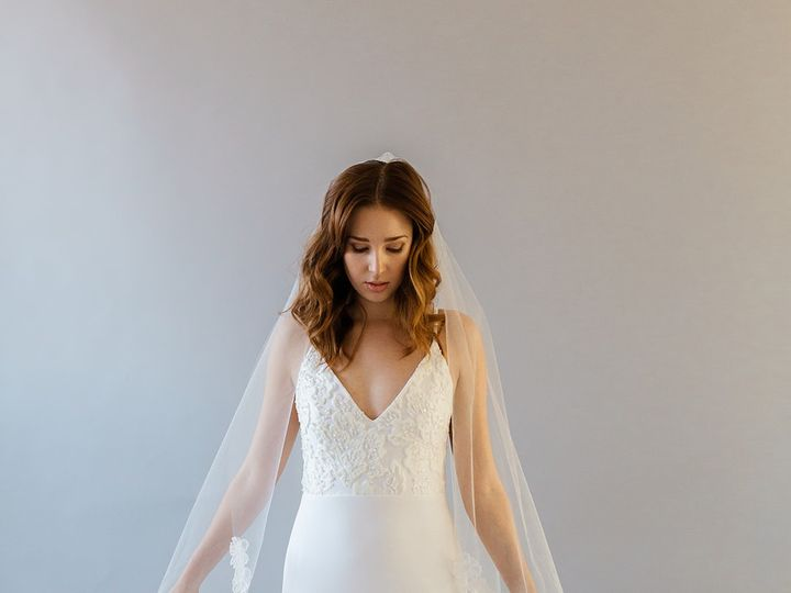 Tmx Daisy 3d Wedding Veil 51 1886401 1569359446 Brooklyn, NY wedding dress