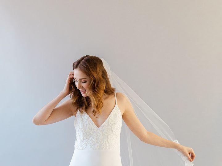 Tmx Daisy Veil Celeste New York 51 1886401 157771845235032 Brooklyn, NY wedding dress