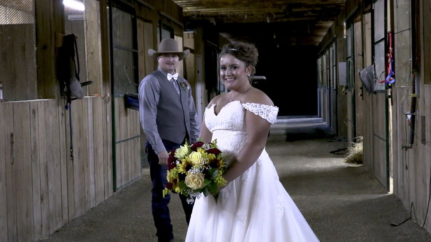 Couple in the Barn