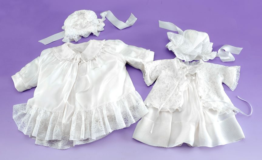 Baptism gown preservation