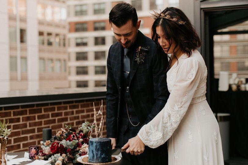 Cake Cutting on the Terrace