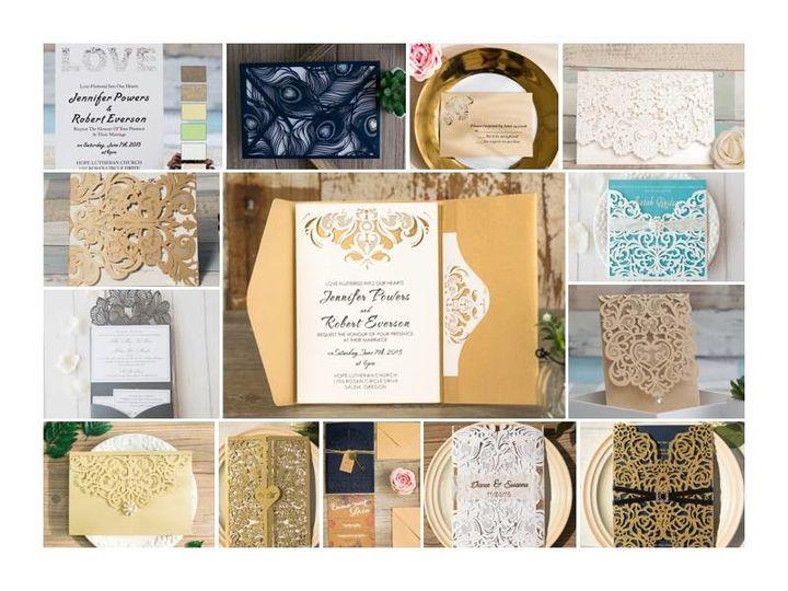 Tmx 1497726228052 1745762118863632316328893464414361244486057n Elk Grove wedding invitation
