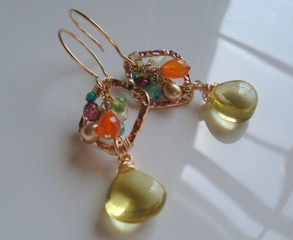 Garden Party Gemstone Earrings