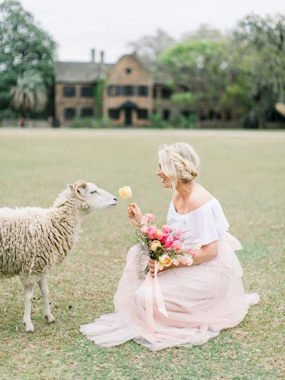 Middleton Place Styled Shoot