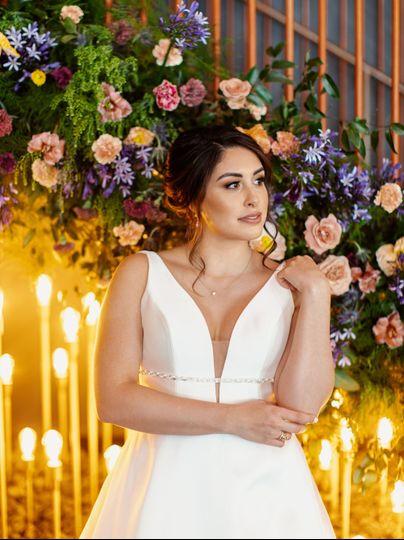 Bridal Portrait by HeyBeloved