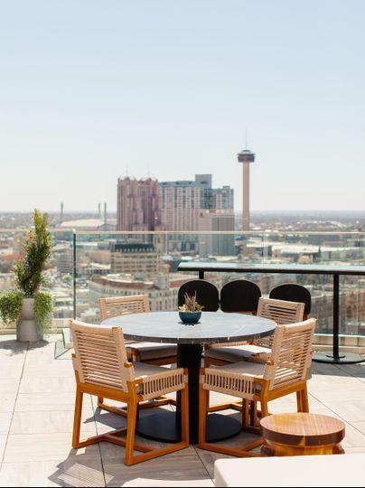 Rooftop Terrace by HeyBeloved