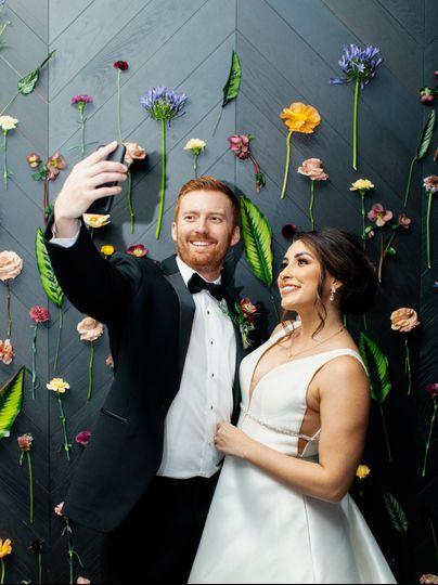 Wedding Selfie by HeyBeloved