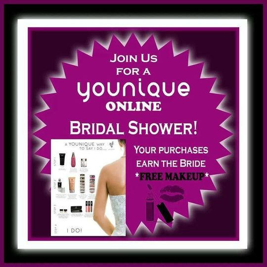 Want to earn free makeup for your wedding?  Host an online Younique party.  You do nothing but add...