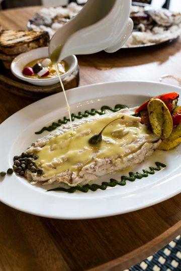 Grilled Mediterranean Sea Bass
