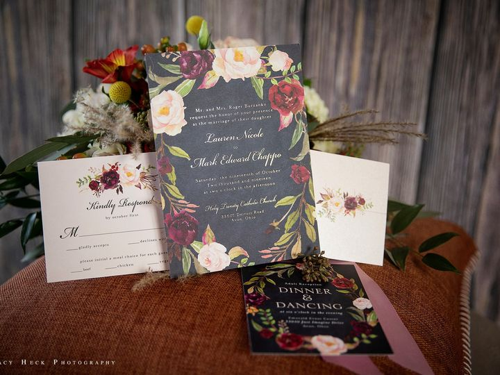 Tmx Paper Trails 1sm 51 110501 157998196425131 Rocky River, OH wedding invitation
