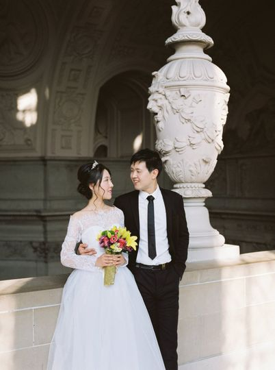 SF City Hall Wedding.