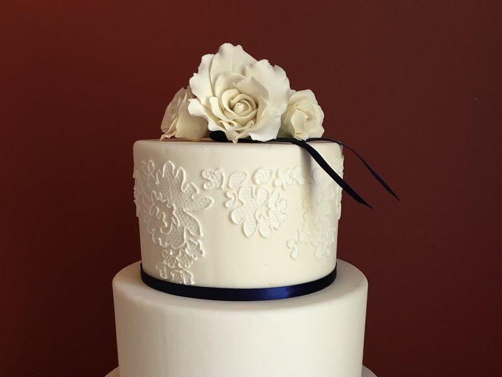 Tmx 1472646454484 Blue Ribbon Wm 2 Lisbon Falls wedding cake