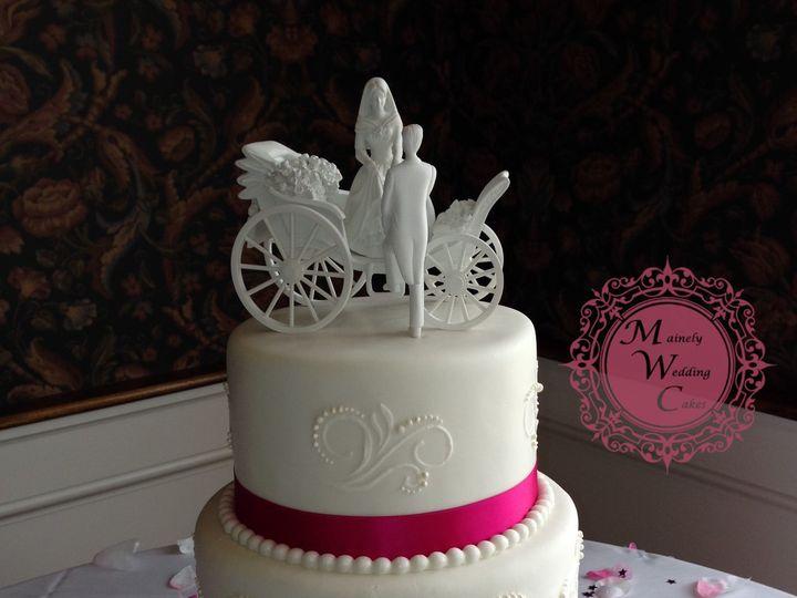 Tmx 1472646514652 Denise And Jerome Lizzott Waterpng Lisbon Falls wedding cake