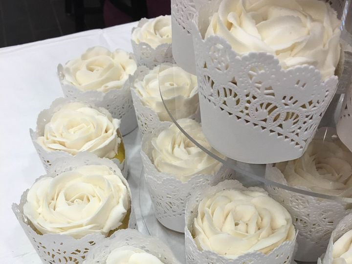 Tmx 1472646541844 Doily Cupcake Wm2 Lisbon Falls wedding cake