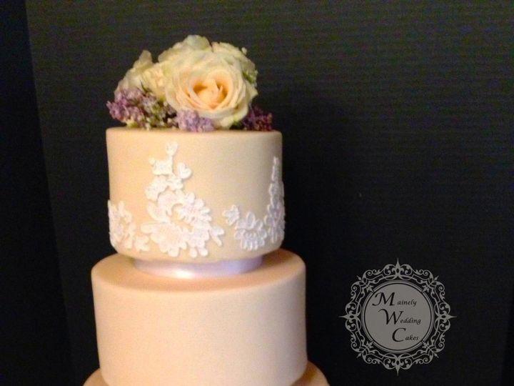 Tmx 1472646598941 Img2402waterpng Lisbon Falls wedding cake