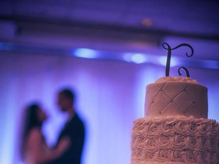Tmx 1472646728145 Mainely Wedding Cakes Rosette Diamond Pattern Mart Lisbon Falls wedding cake