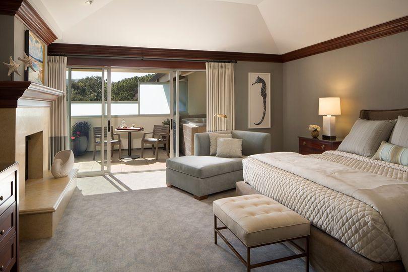 The romantic Spa Terrace Suite