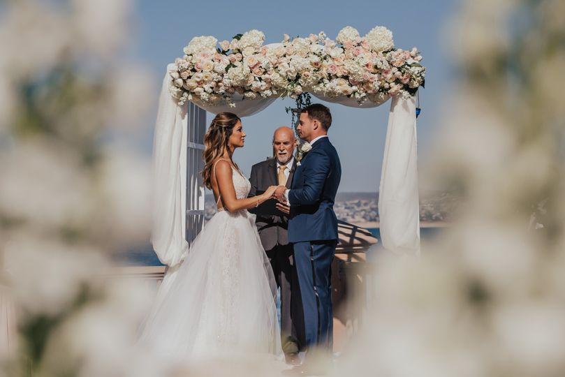 Incredible ceremony florals