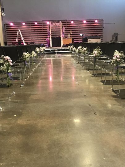 Ceremony Space - Designed by Ink & Rose
