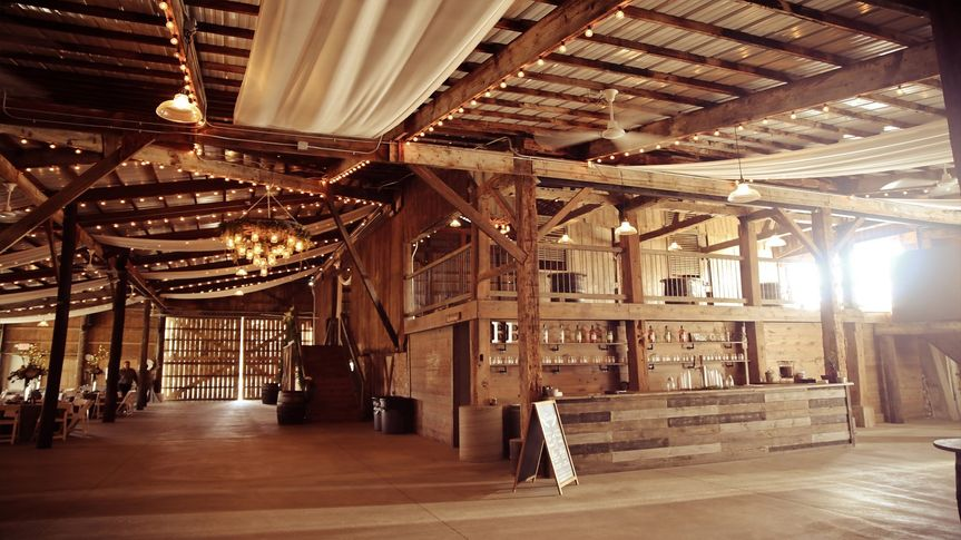 Inside of Barn Bar side