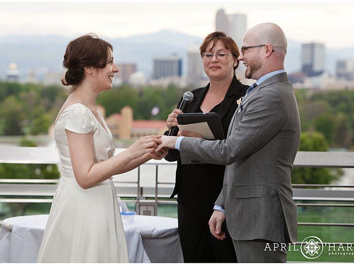 Tmx 1421340610700 Denver Skyline Wedding Ceremony From Museum Of Nat Boulder, CO wedding officiant