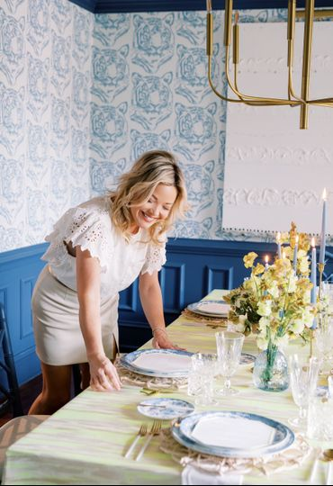 Eva Clark at home