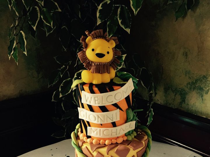 Tmx 1421690405315 Img0946 Auburn wedding cake