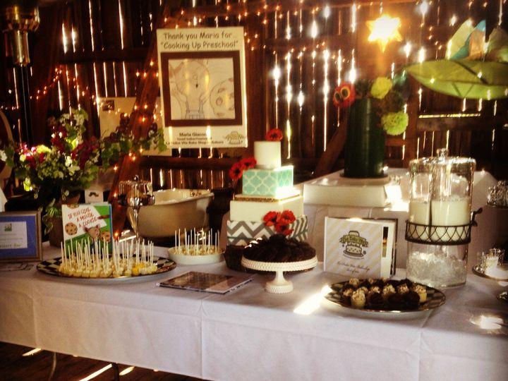 Tmx 1421690663452 Img2287 Auburn wedding cake