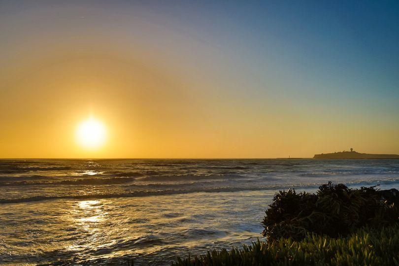A typical Sunset at the Douglas Beach House in Miramar Beach