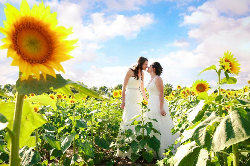 Summer Lesbian Wedding