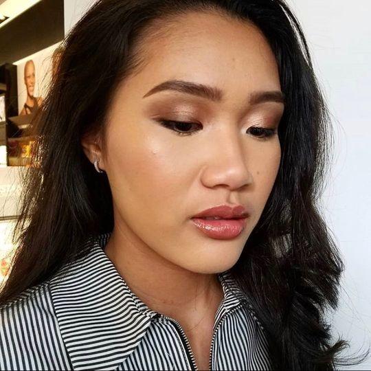 Natural event makeup