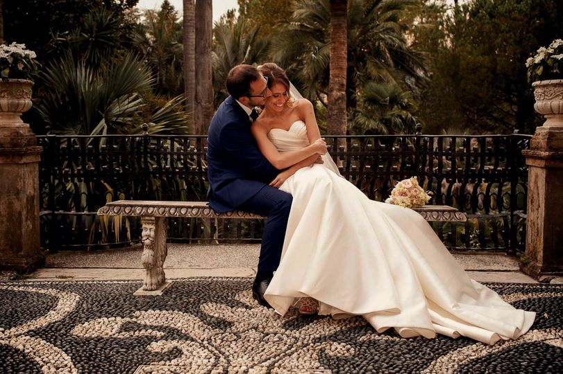 Romantic Wedding in Villa