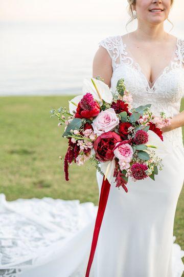 Pensacola Wedding Bride Detail
