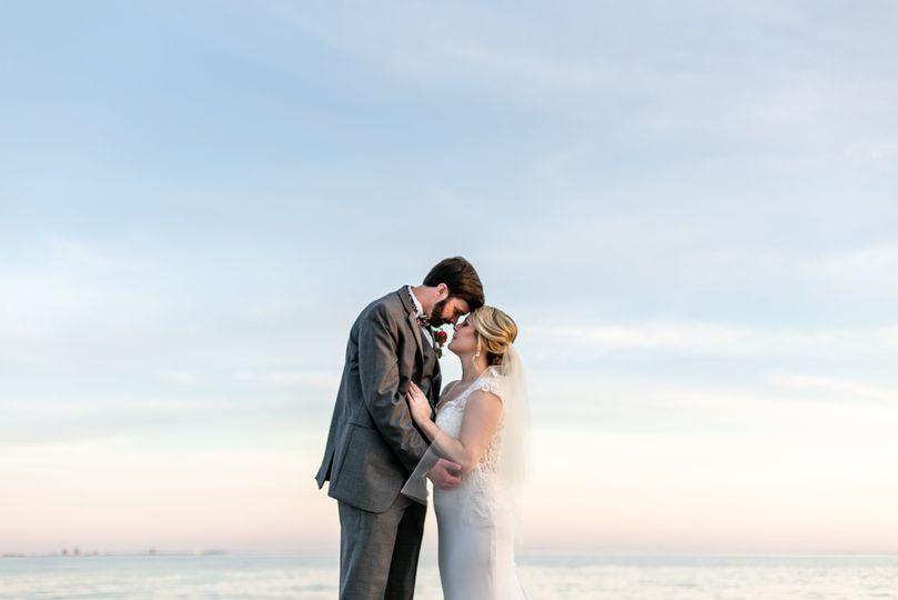 Pensacola Wedding Sunset Sky