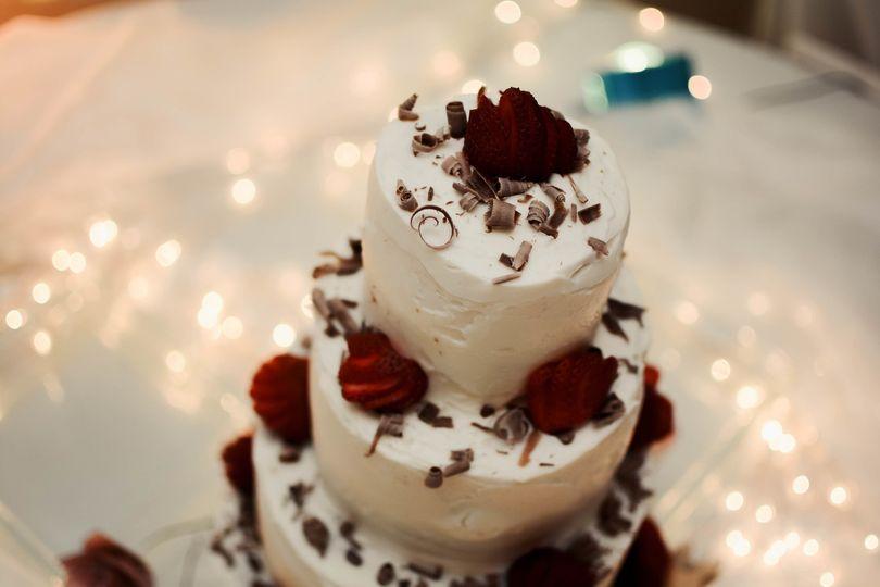 Chocolate & strawberry details