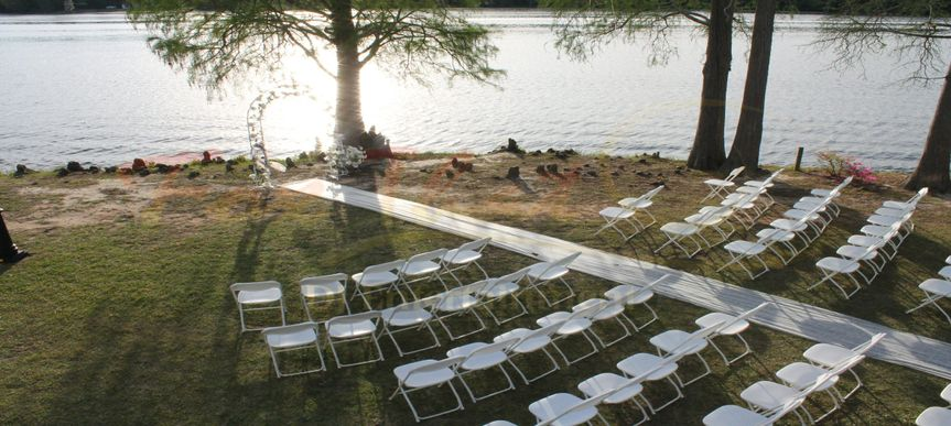 Wedding ceremony seats