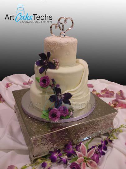 denises wedding cake
