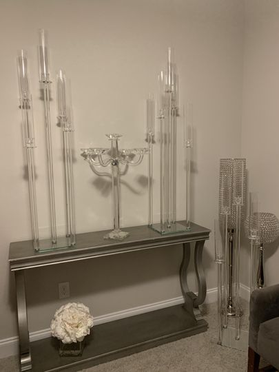 Glass Tablescapes