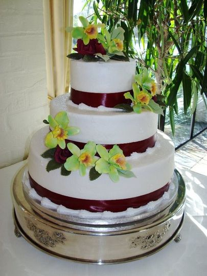 wedding cakes sarasota thompson s cakes wedding cake sarasota fl weddingwire 25434