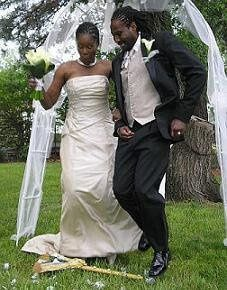Jumping the broom let us create it for you.