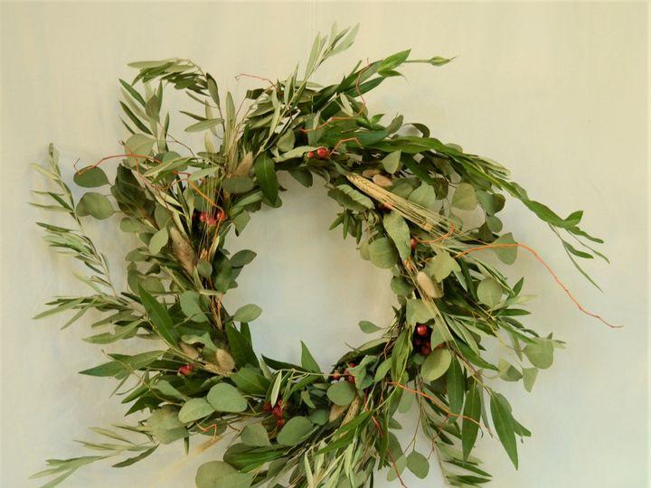 Tmx Wreath Fall 3 51 1999501 160634308349478 San Bruno, CA wedding florist
