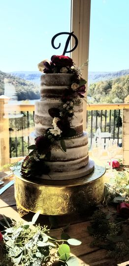 Cake with a view