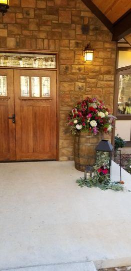 Front door - Windsor Hall