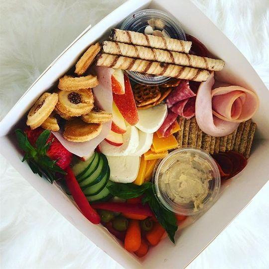 Bachlorette party graze box