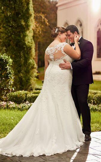Elegant lace bridal dress attire san jose ca for San jose wedding dresses