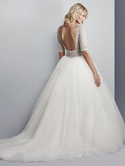 Elegant Lace Bridal Dress Attire San Jose Ca