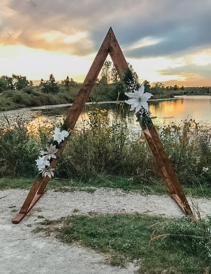 A-Frame Arch at Sunset