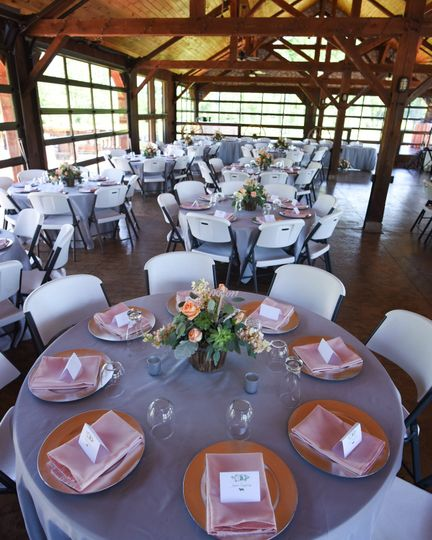 Table linens   Photo by Credit Madi May Photography